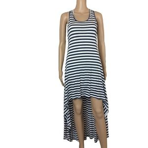 EUC highlow striped summer dress